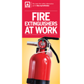 Fire Extinguishers at Work Brochures