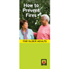 How to Prevent Fires for Older Adults Brochures