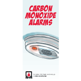 Carbon Monoxide Alarms Brochures