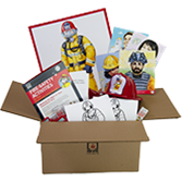 Firefighters are Community Helpers Box