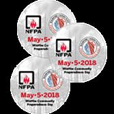 Wildfire Community Preparedness Day Stickers