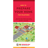 How to Prepare Your Home for Wildfires Brochure (English or Spanish)