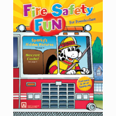 Fire Safety Fun for Preschoolers Coloring/Activity Book