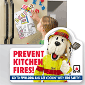 2013 FPW (Fire Prevention Week) Magnets
