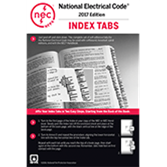 NFPA 70 National Electrical Code (NEC) or Handbook Tabs