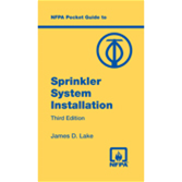 Nfpa Pocket Guide To Sprinkler System Installation Third Edition