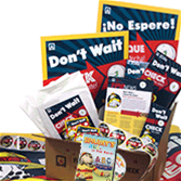 2016 Fire Prevention Week In A Box + Sparky's ABCs of Fire Safety DVD Value Pack