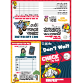 2016 Fire Prevention Week Kid's Activity Posters