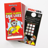 Smoke Alarm Door Hangers