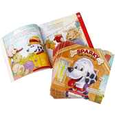 Sparky the Fire Dog Story Book