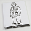 Firefighter Coloring Pad