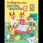 The Fox Family's Fire Escape Plan Coloring Book (2017)