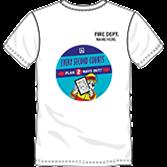 Fire Prevention Week T-Shirt Decal PDF (2017)