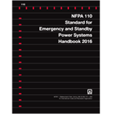 NFPA 110, Emergency and Standby Power Systems PDF Handbook