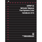 2013 NFPA 52: Vehicular Gaseous Fuel Systems Code Handbook PDF