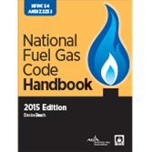 2015 NFPA 54 Code Handbook - Current Edition