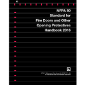 2016 NFPA 80 Handbook - Current Edition