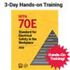 NFPA 70E (2015) 3-Day Hands-on Training