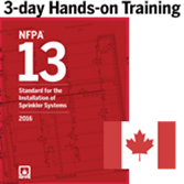 2016 NFPA 13 - 3-Day Hands-on Training