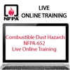 Combustible Dust Hazards – NFPA 652 Live Online Training
