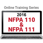 NFPA 110 and NFPA 111 (2016) Online Training Series