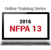 NFPA 13 (2016) Online Training