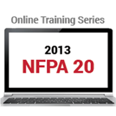 2013 NFPA 20:  Self-Guided Online Courses