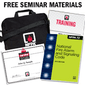 2013 NFPA 72: National Fire Alarm and Signaling Code 3-day Seminar with Certificate of Educational Achievement