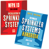 NFPA 13: Installation of Sprinkler Systems and Handbook Set, 2010 Edition