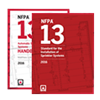 NFPA 13: Installation of Sprinkler Systems and Handbook Set