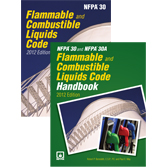 NFPA 30: Flammable and Combustible Liquids Code and Handbook Set, 2012 Edition