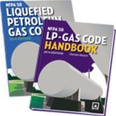 NFPA 58: Liquefied Petroleum Gas Code and Handbook Set, 2014 Edition