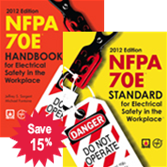 NFPA 70E: Standard for Electrical Safety in the Workplace and Handbook Set, 2012 Edition