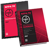 2017 NFPA 70: NEC Softbound and Handbook Set - Current Edition
