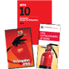 Fire Extinguishers at Work DVD, Brochures and NFPA 10 Set