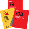NFPA 79 (2015), NFPA 70B (2016) and NFPA 70E (2015) Set