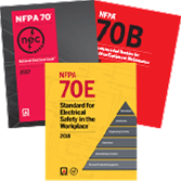 NEC Softbound (2017), NFPA 70E (2015), and NFPA 70B (2016) Set