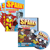 Sparky and the Runaway Robot! DVD and Comic Books Set
