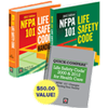 2012 NFPA 101 Print Set with FREE Quick Compare, Life Safety Code 2000 & 2012 for Health Care