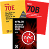 2020 NEC, 2018 NFPA 70E, and 2019 NFPA 70B Softbound Set