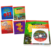 Let's Hear It For Fire Safety Kids Brochures and DVD Set
