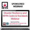 Disaster Resiliency and NFPA Codes and Standards Webinar