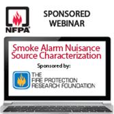Smoke Alarm Nuisance Source Characterization Live Online