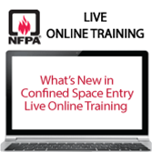 What's New in Confined Space Entry Live Online Training