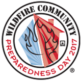 Wildfire Community Preparedness Day Decal PDF - Color (color with date)