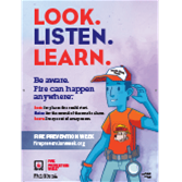 2018 Fire Prevention Week Posters