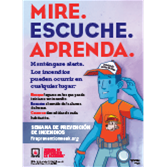 2018 Fire Prevention Week Spanish Posters