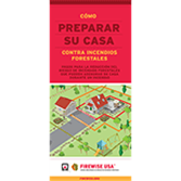 How to Prepare Your Home for Wildfires Brochure (Spanish)