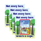 2019 Fire Prevention Week Magnets (back)