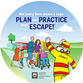 2019 Fire Prevention Week Stickers (Countryside)